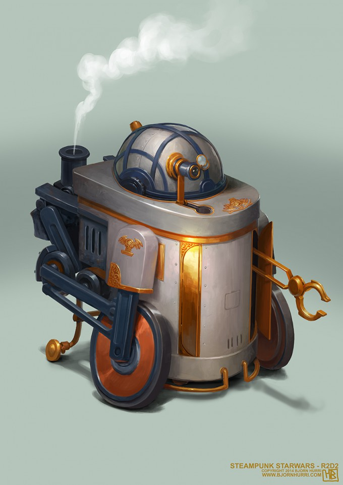 Bjorn_Hurri_Star_Wars_SteamPunk_R2D2