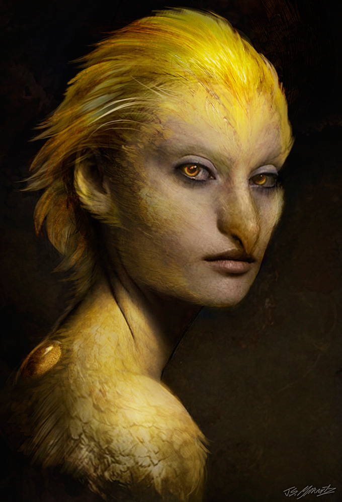 Grimm Concept Art by Jerad S. Marantz