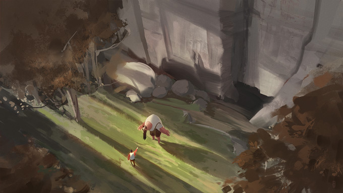 Nick Gindraux Concept Art