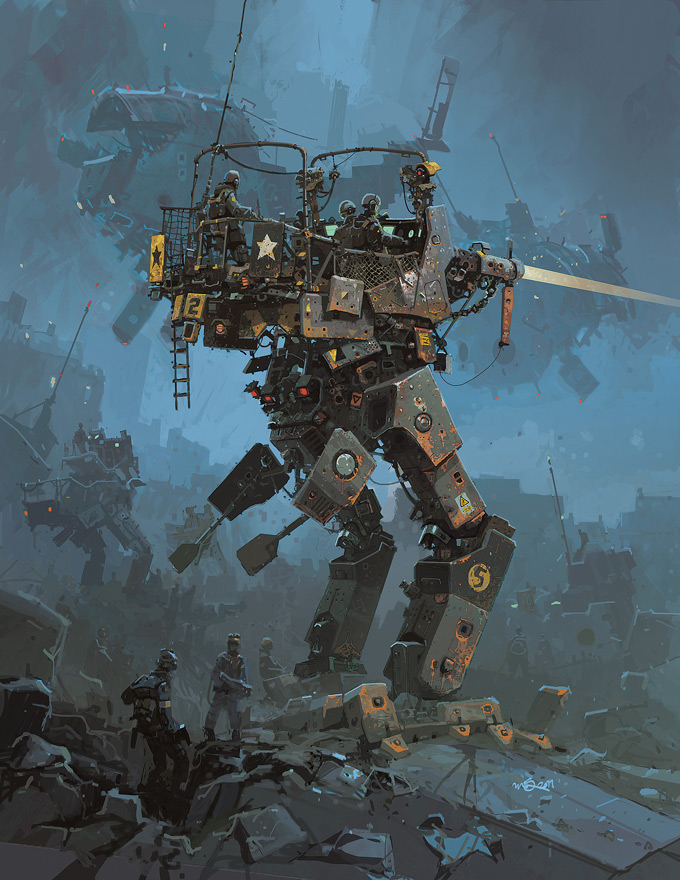 Nuthin' But Mech Ian McQue