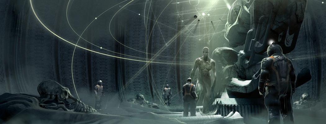 Prometheus Concept Art David Levy MA