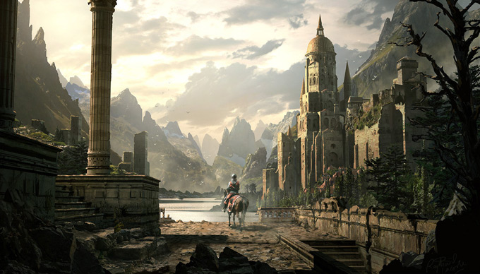 Raphael Lacoste Concept Art and Matte Painter