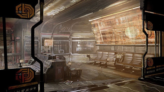 Dead Space Concept Art by Jason Courtney