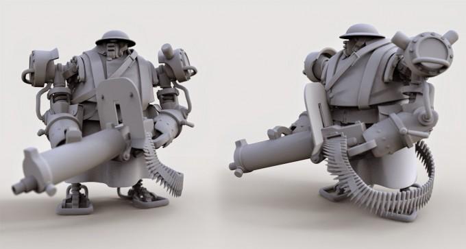 Nick_Carver_3d_gunner_bot_sculpt
