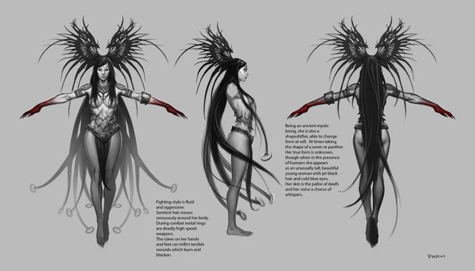 Phroilan Gardner Concept Art and Illustration