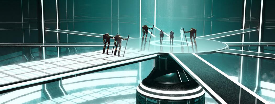 Tron Uprising by Darren Bacon MA