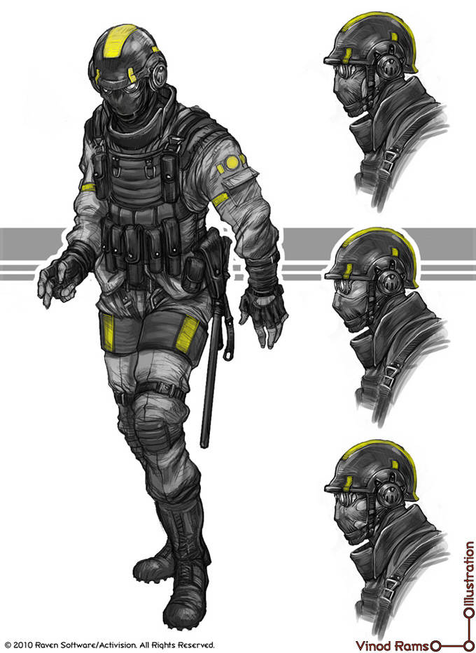 Vinod Rams Concept Art and Illustration