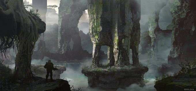 layne johnson concept art Halo The Master Chief Collection 02