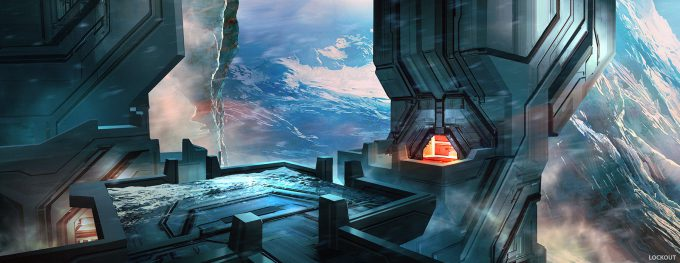 layne johnson concept art Halo The Master Chief Collection 03