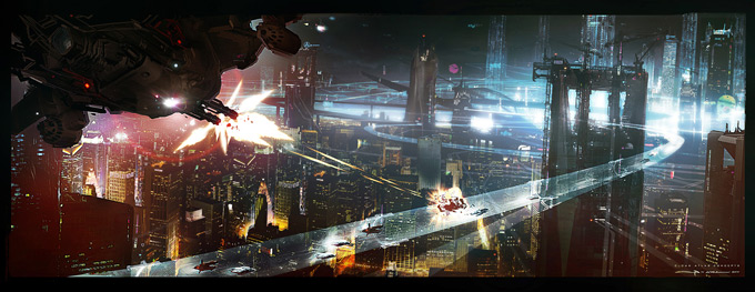 Cloud Atlas Concept Art by George Hull