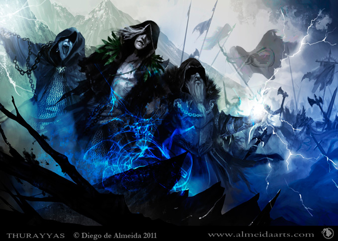 Diego de Almeida Concept Art and Illustration