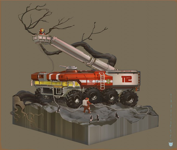 Nikolay_Yeliseyev_Concept_Art_fire_dept