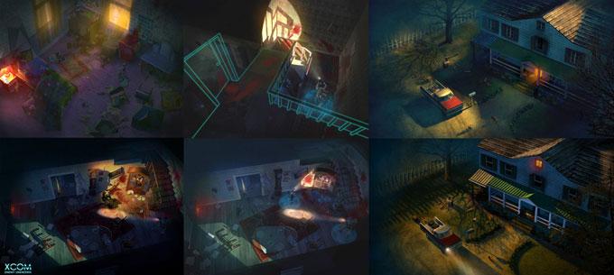XCOM: Enemy Unknown Concept Art by Piero Macgowan