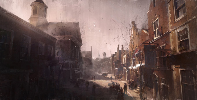 Assassin's Creed III Concept Art by William Wu