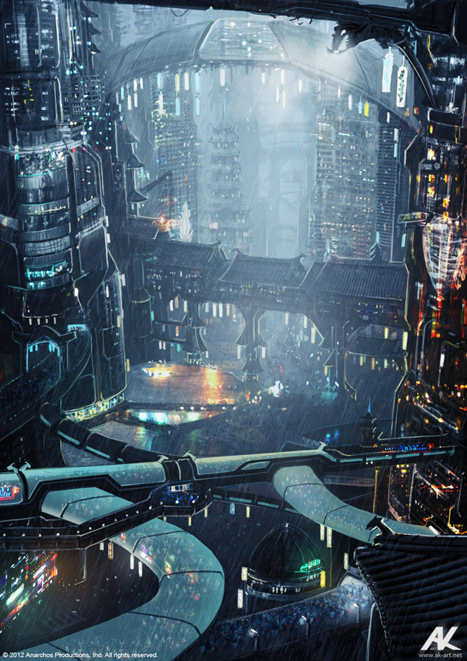 Cloud Atlas Concept Art by Adam Kuczek