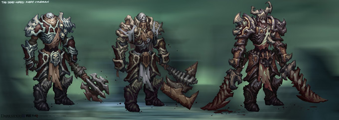 Pacific Rim Equipment >> Darksiders II Concept Art by Avery Coleman | Concept Art World