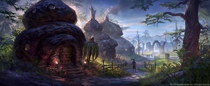 Elder_Scrolls_Online_Concept_Art_Huts