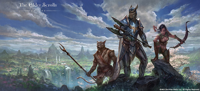 The Elder Scrolls Online Concept Art by Jeremy Fenske