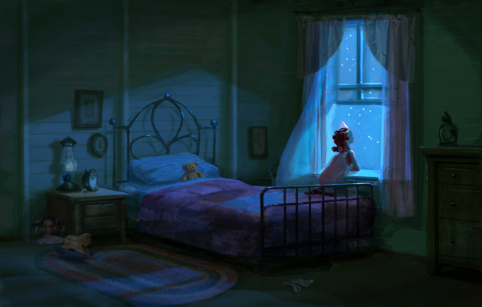Lisa Keene Concept Art - Princess and the Frog
