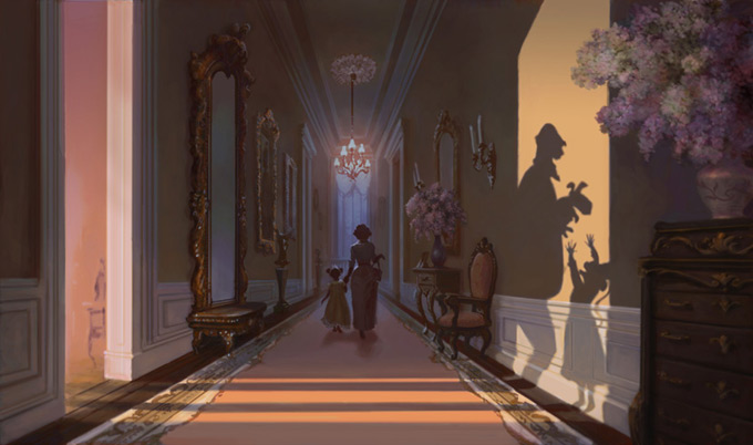 Lisa Keene Concept Art and Illustration  - Princess and the Frog