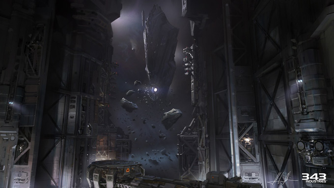 Halo 4 Concept Art by John Wallin Liberto