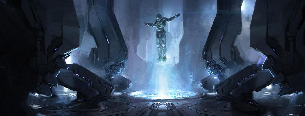 Halo 4 Concept Art John Liberato MA