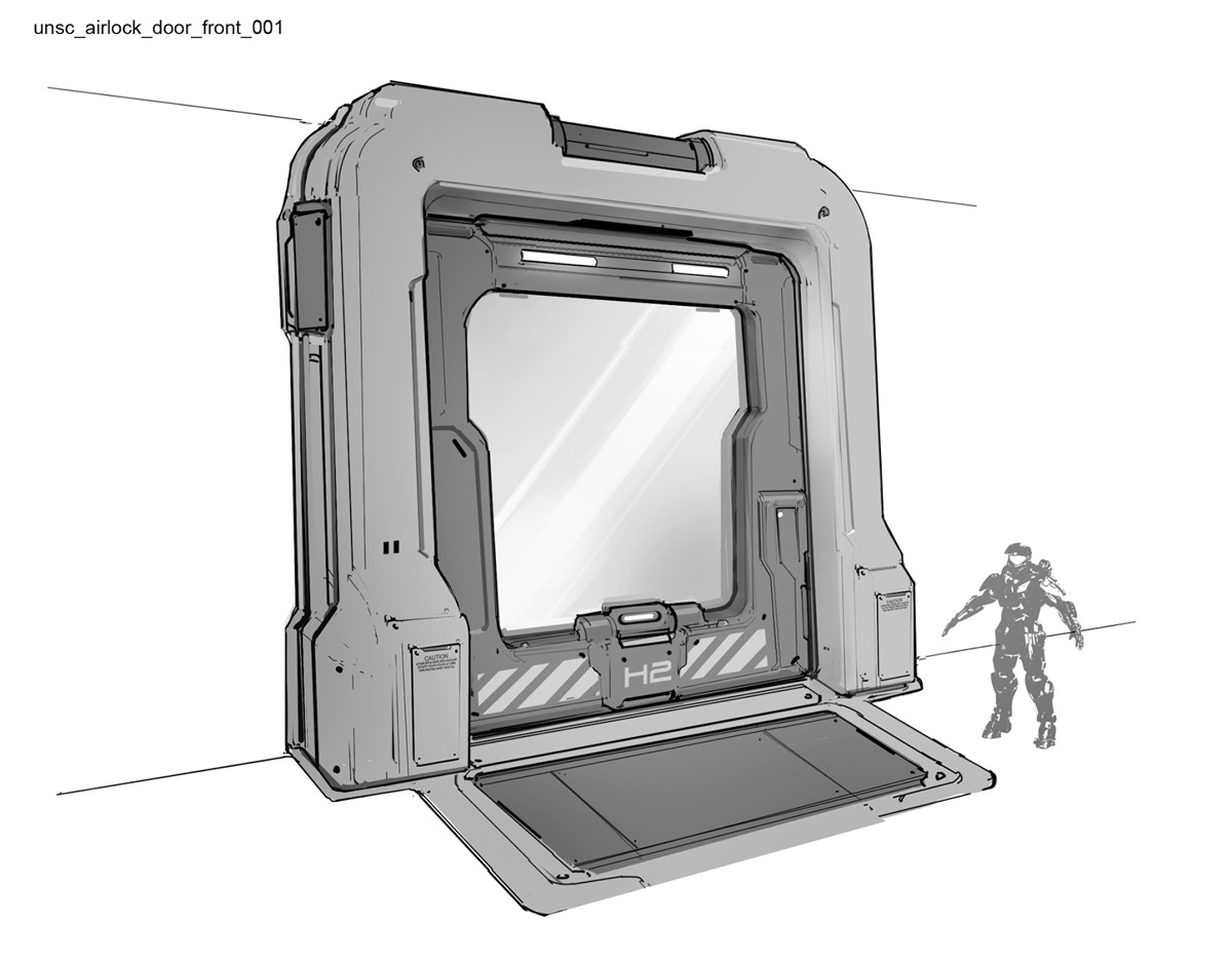 Halo 4 Concept Art by Josh Kao | Concept Art World