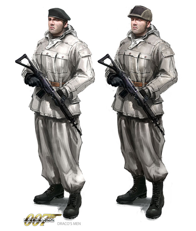 007 Legends Concept Art by Jeremy Love