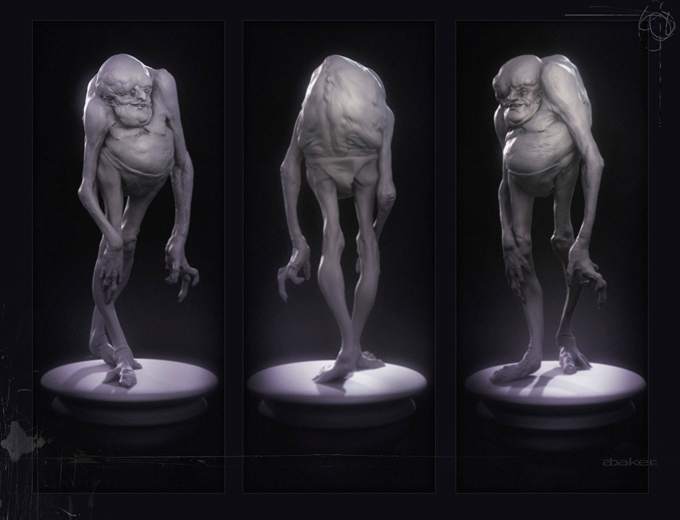 Andrew Baker Creature and Character Designs