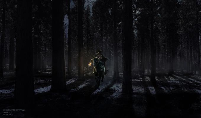 Django Unchained Concept Art by Josh Nizzi