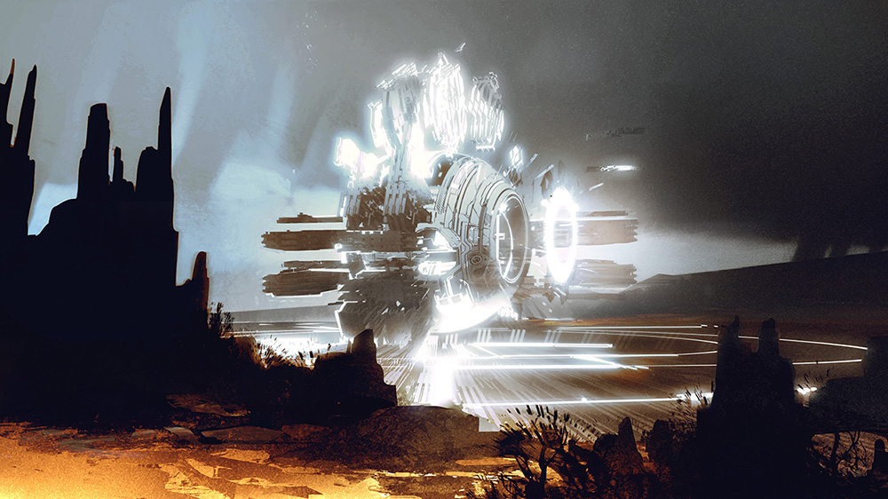 Halo 4 Concept Art by Thomas Scholes | Concept Art World