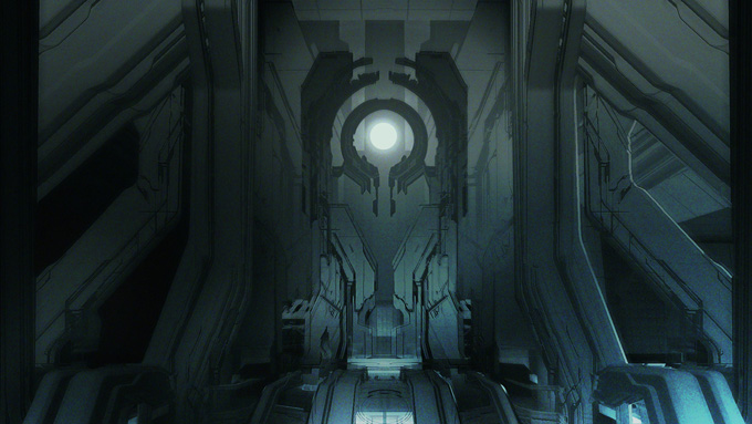 Halo 4 Concept Art by Tom Scholes