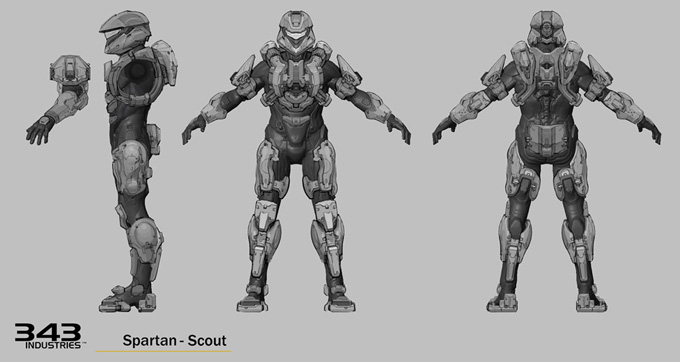 Halo 4 Concept Art by Albert Ng