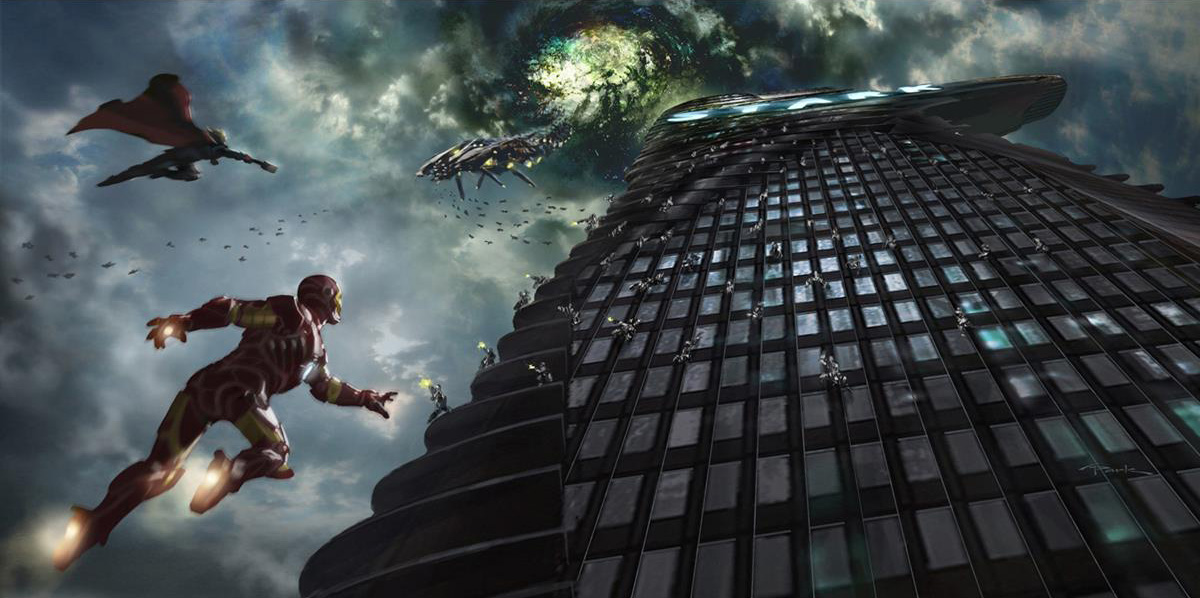 Concept Art Avengers 1