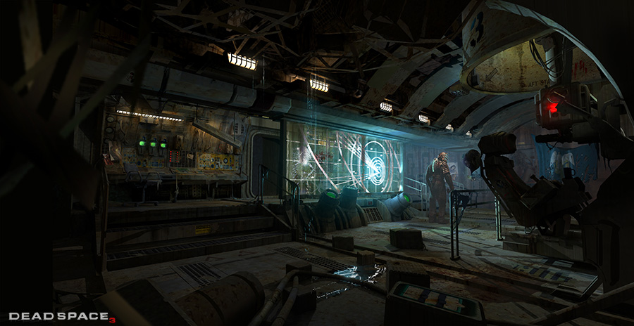 Dead Space 3 Concept Art By David Hobbins Concept Art World