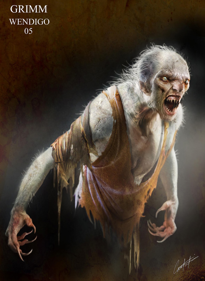 GRIMM Season 2 Concept Art by Constantine Sekeris