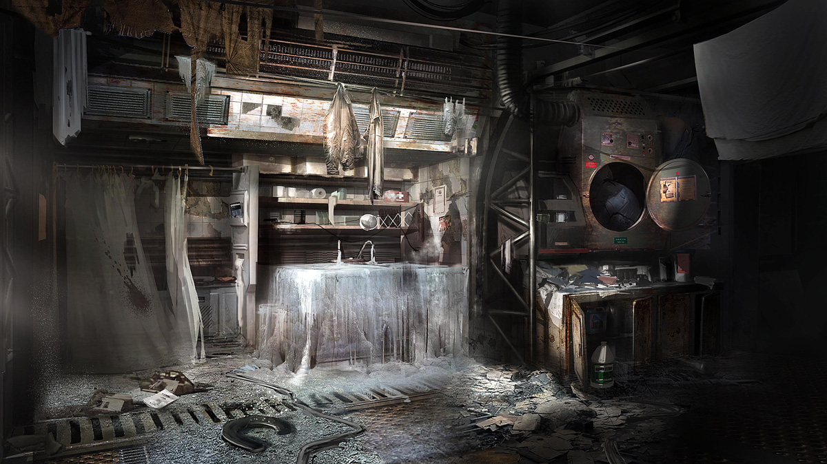 Dead Space 3 Concept Art By Patrick O Keefe Concept Art