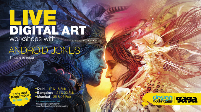 Live Digital Art Workshops with Android Jones