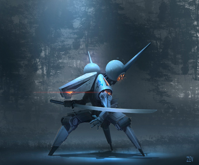 40 Captivating Robot Concepts and Illustrations | Concept