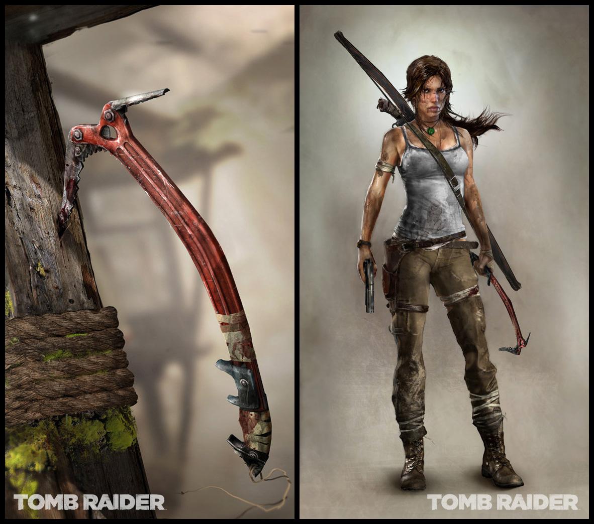 Wallpaper Shadow Of The Tomb Raider Lara Croft Concept: Tomb Raider Concept Art And Art Book