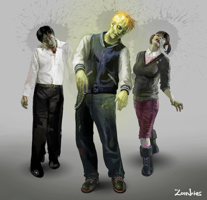 Cynthia Sheppard Zombies