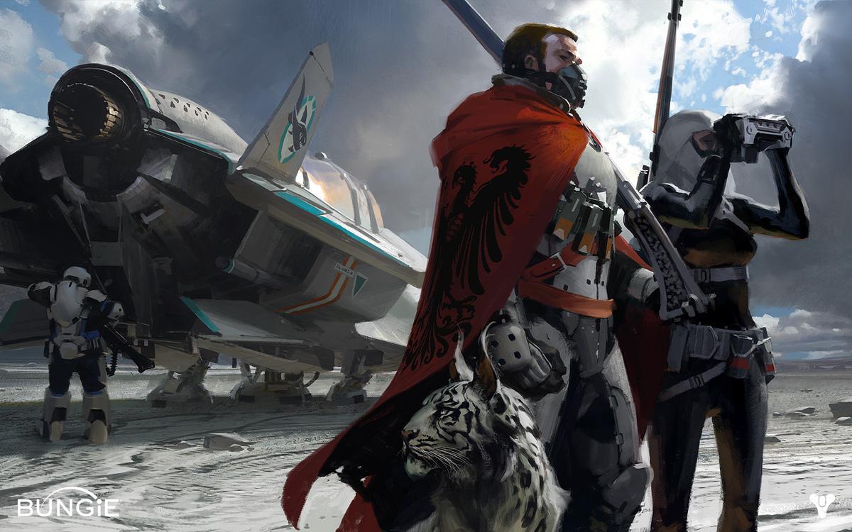 Destiny Character Development and Concept Art | Concept ...