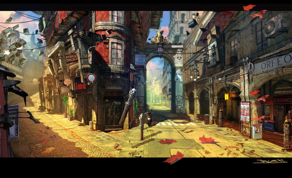 Dmc Devil May Cry Concept Art Concept Art World