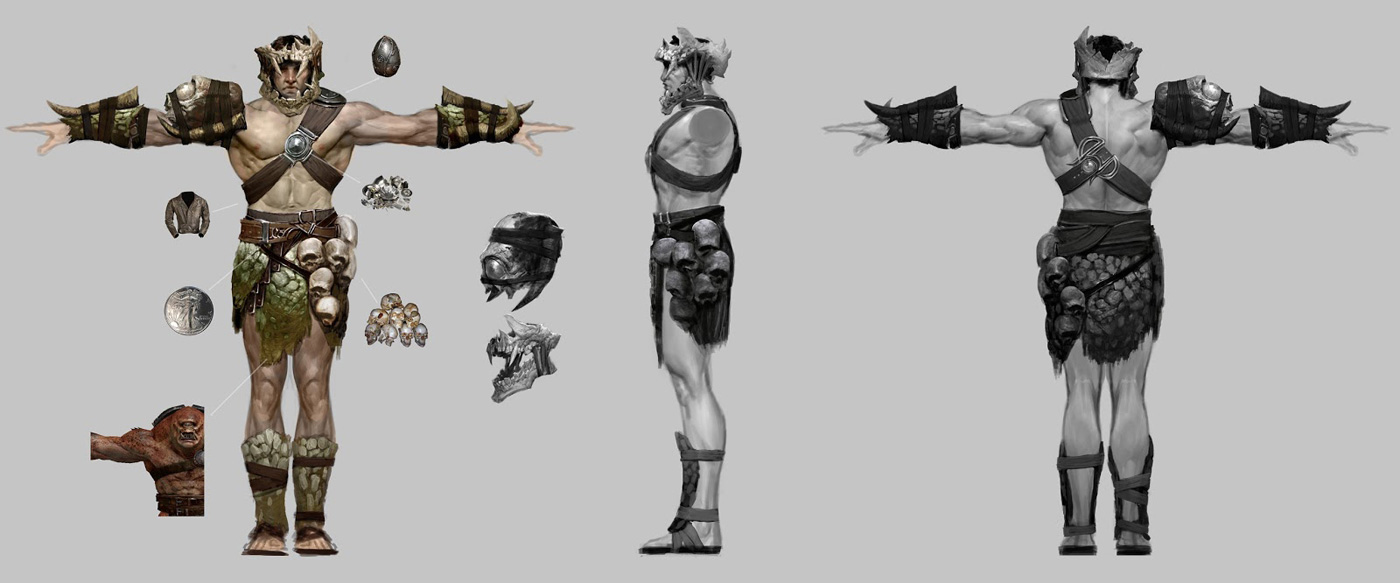 God of War: Ascension Concept Art by Anthony Jones   Concept Art World