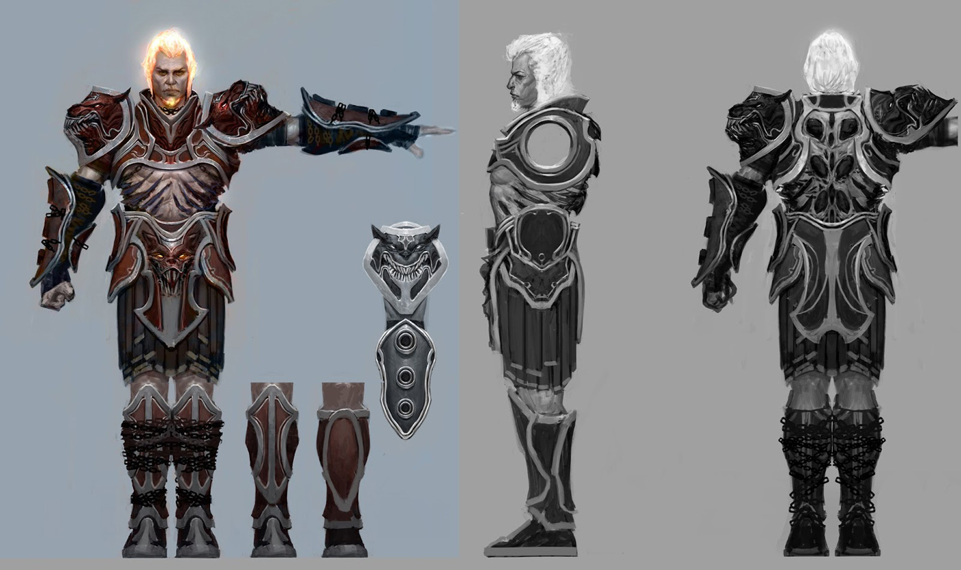 god of war ascension concept art by anthony jones concept art world