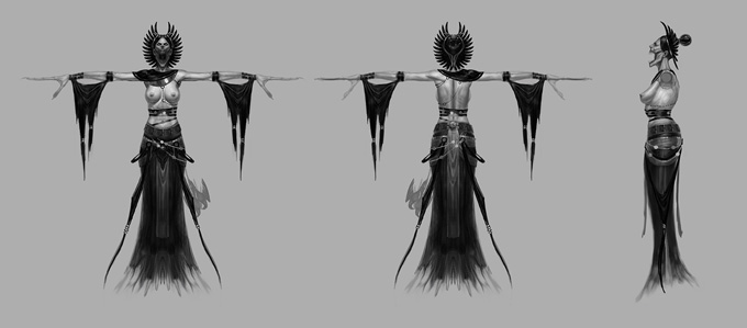 God of War: Ascension Concept Art by Eric Ryan