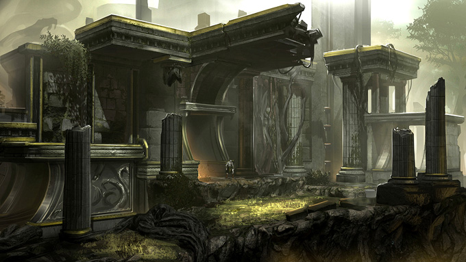 God of War: Ascension Concept Art by Josh Kao