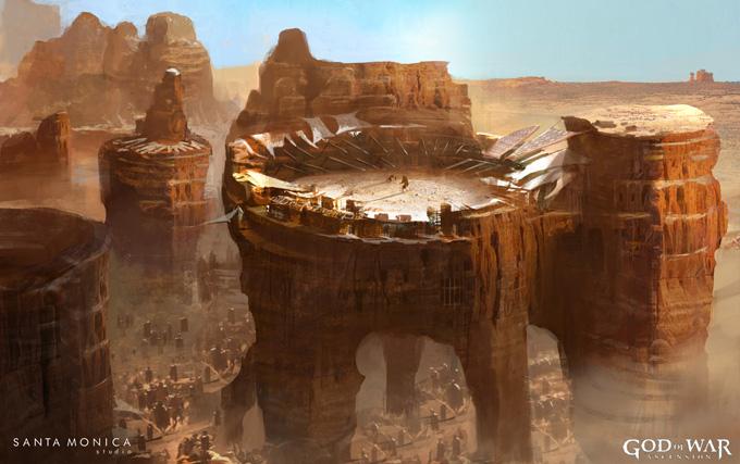 God of War: Ascension Concept Art by Jung Park