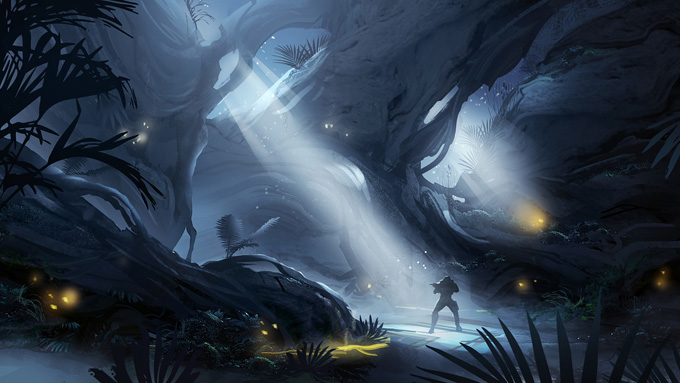 Halo 4 Concept Art by Dave Bolton
