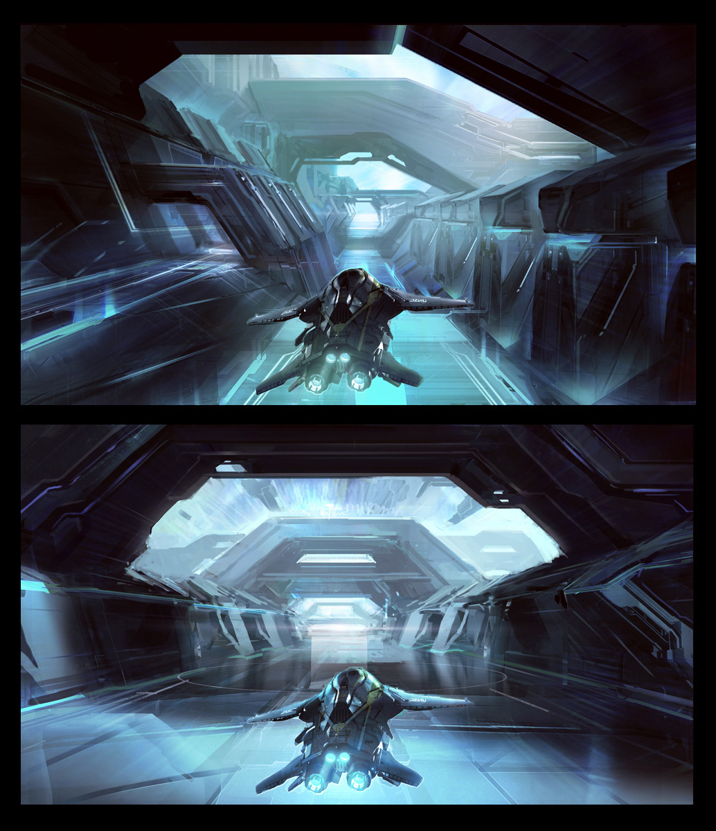 Art: Halo 4 Concept Art By Dave Bolton